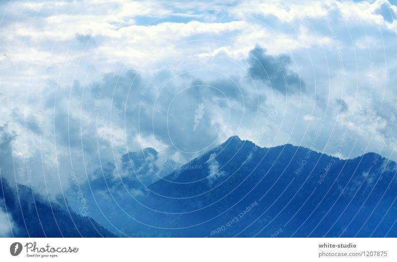 Wolkenfels Umwelt Natur Landschaft Pflanze Klima Wetter schlechtes Wetter Unwetter Nebel Schnee Schneefall Hügel Felsen Alpen Berge u. Gebirge Gipfel