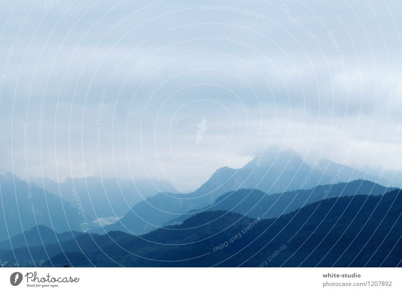 Ebenen Umwelt Natur Landschaft Pflanze Himmel Gewitterwolken Sommer Klimawandel schlechtes Wetter Unwetter Wind Sturm Nebel Regen Hügel Alpen Berge u. Gebirge