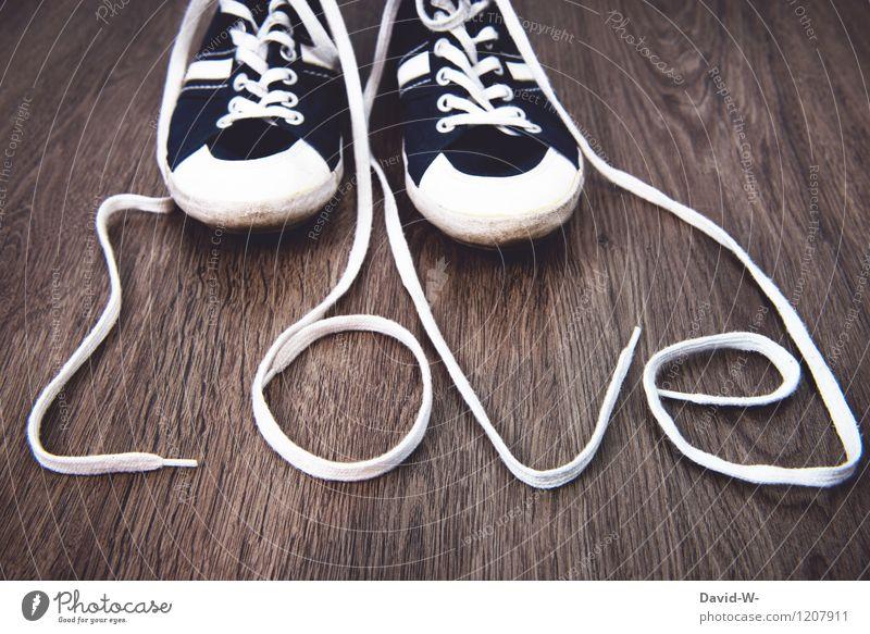 Lieblingsschuhe Lifestyle elegant Stil Freude Mensch Fuß Kunst Tanzen Mode Bekleidung Schuhe Turnschuh Liebe Gefühle Geborgenheit Verliebtheit Treue Romantik