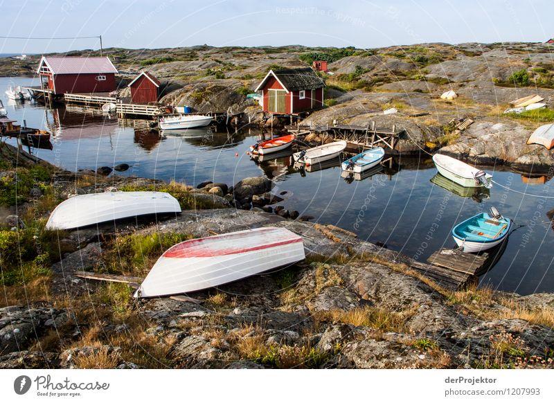Astrid Lindgrens Schweden Ferien & Urlaub & Reisen Tourismus Ferne Freiheit Camping Umwelt Natur Landschaft Pflanze Tier Sommer Hügel Felsen Wellen Küste Bucht