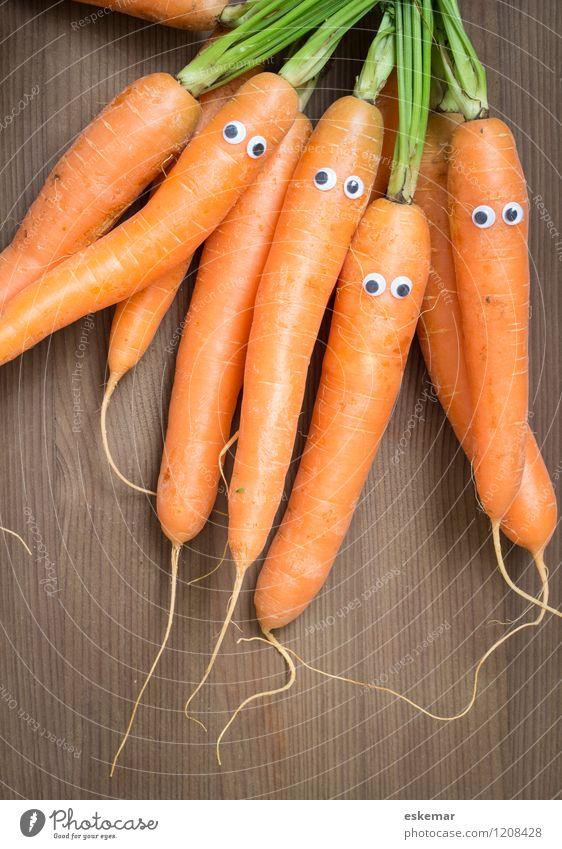 Möhrenfamilie Lebensmittel Gemüse Ernährung Bioprodukte Vegetarische Ernährung Diät Vegane Ernährung Mensch Familie & Verwandtschaft Freundschaft Auge 4