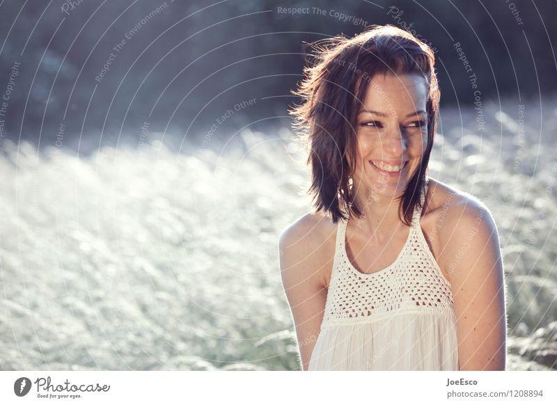 #1208894 Mensch Frau Natur Jugendliche schön Sommer Erholung Freude 18-30 Jahre Erwachsene Leben natürlich lachen Glück Zufriedenheit frisch
