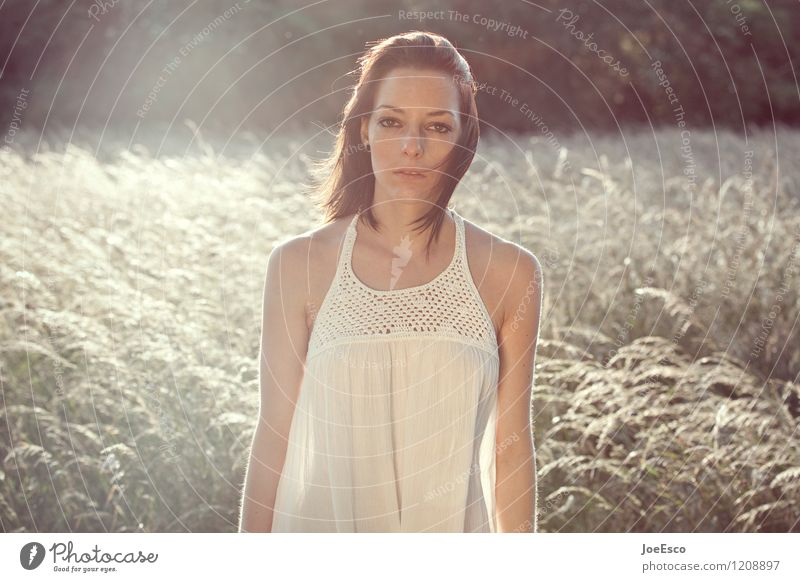 #1208897 Mensch Frau Natur Jugendliche Pflanze schön Sommer Sonne 18-30 Jahre Erwachsene natürlich Freiheit träumen Zufriedenheit Freizeit & Hobby Feld