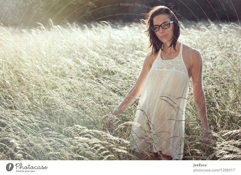 #1208917 Stil harmonisch Wohlgefühl Zufriedenheit Sinnesorgane Erholung ruhig Freizeit & Hobby Freiheit Sommer Sonne Garten Frau Erwachsene Natur entdecken frei