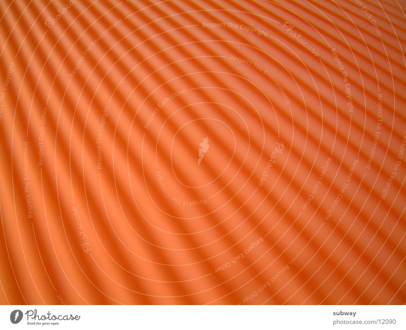 Orange Furche Licht Fototechnik orange texture Strukturen & Formen structure light Schatten