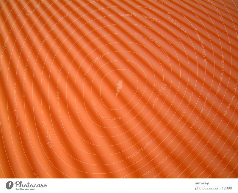 Orange orange Furche Fototechnik