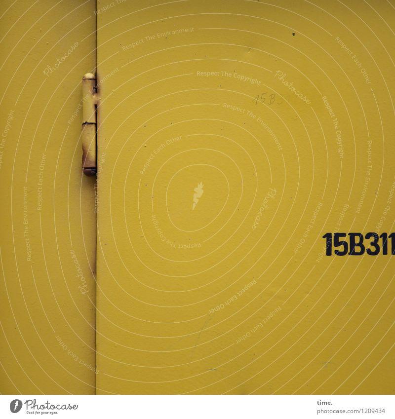 Spreedorado | Rätselspaß (I) gelb Wand Mauer Metall Energiewirtschaft Design Tür Ordnung Schriftzeichen Technik & Technologie planen Sicherheit Ziffern & Zahlen