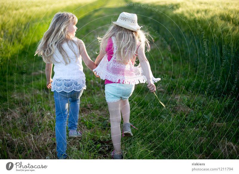happy hippie days ii Mensch feminin Mädchen Geschwister Schwester Familie & Verwandtschaft Kindheit 2 3-8 Jahre Umwelt Natur Landschaft Sommer Schönes Wetter