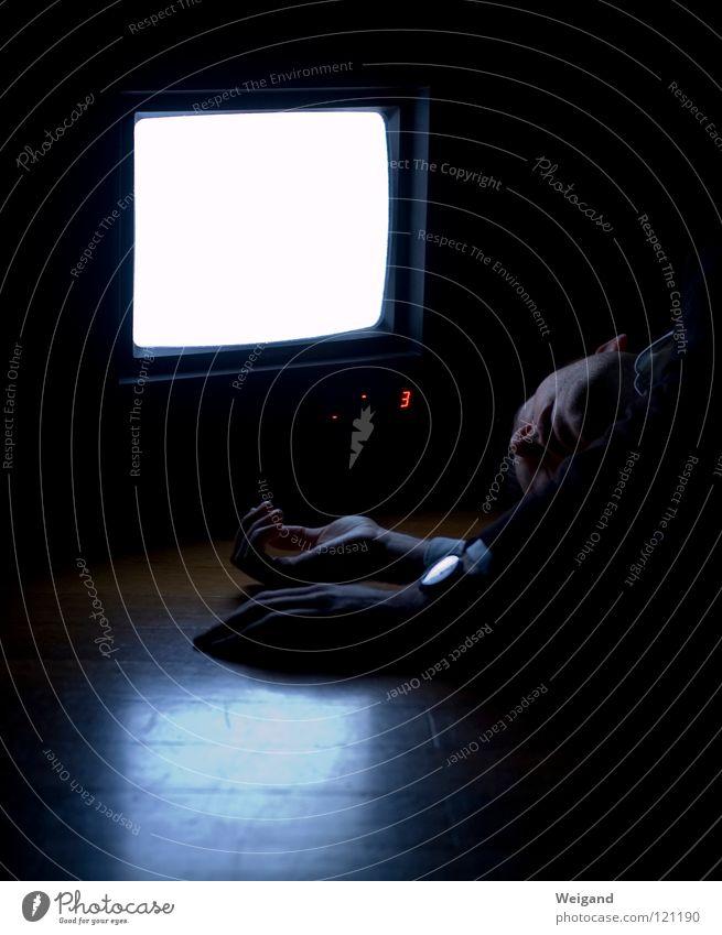 Kammerflimmern III Ferne glänzend Perspektive Zukunft Fernsehen Bild Medien Neugier Konzentration Wahrsagerei