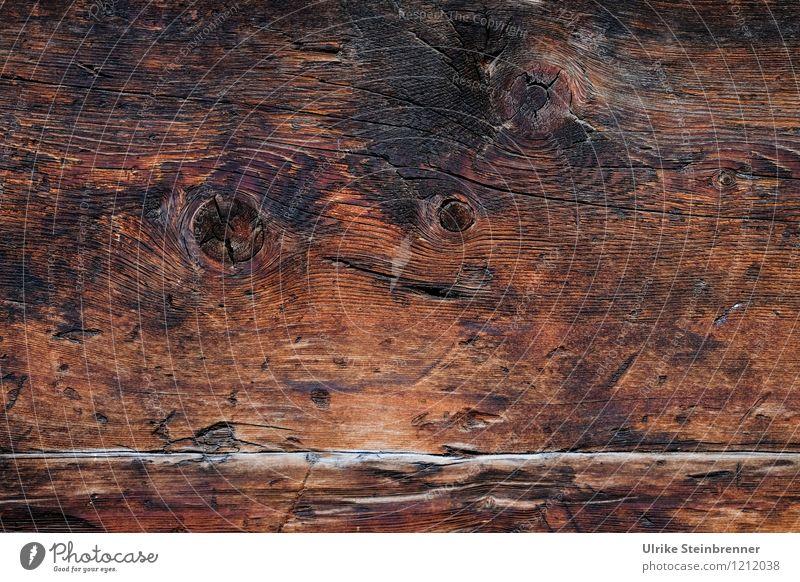 Walser Holz Art 2 alt Haus Wand Wärme Architektur natürlich braun Fassade Schutz trocken Dorf Tradition Holzbrett Umweltschutz Riss