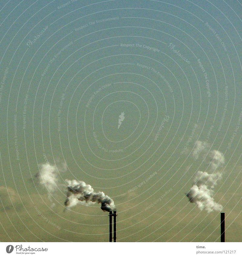 Nichtraucherschutzgesetzausnahmeverordnung (in Kraft) Himmel Wolken Leben Luft 2 Klima dreckig Energiewirtschaft Industrie Rauch ökologisch atmen Abgas
