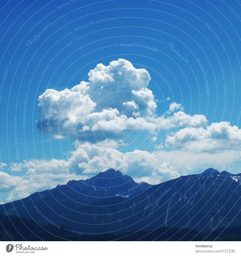 colkenwase II Himmel blau Sommer Ferien & Urlaub & Reisen Wolken Berge u. Gebirge träumen Landschaft wandern groß Aussicht Freizeit & Hobby Klettern Alpen Hügel