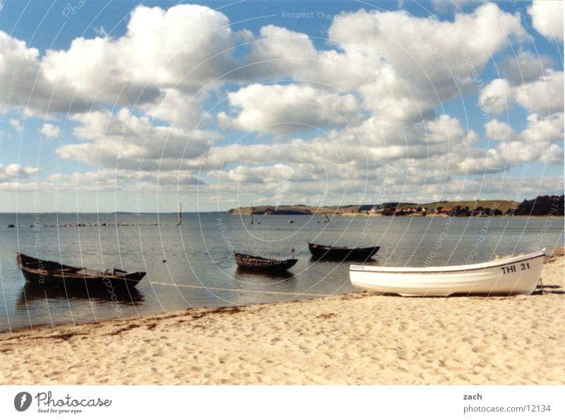 Heiliges Land Natur Wasser Himmel Sonne Meer blau Sommer Strand Ferien & Urlaub & Reisen ruhig Wolken Einsamkeit Erholung See Landschaft Wasserfahrzeug