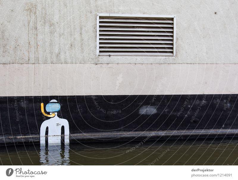 Aufgetaucht Mensch Ferien & Urlaub & Reisen Stadt Gefühle Schwimmen & Baden außergewöhnlich maskulin Tourismus ästhetisch Ausflug Abenteuer Coolness sportlich trendy tauchen Mut