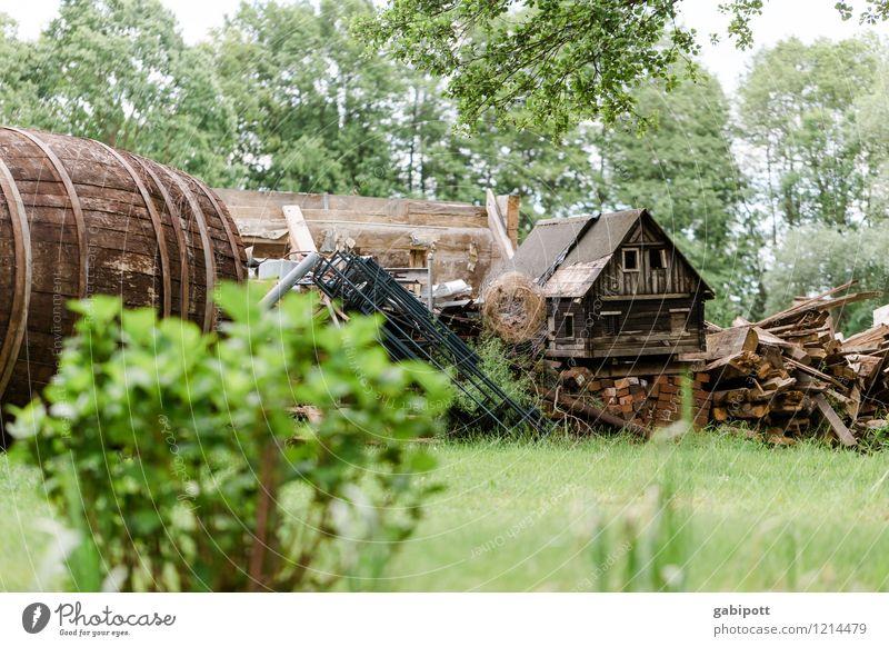 Spreewald | Spreedorado Ferien & Urlaub & Reisen grün Sommer Baum Landschaft Haus Wiese klein Garten braun Wohnung Häusliches Leben Tourismus Idylle Sträucher