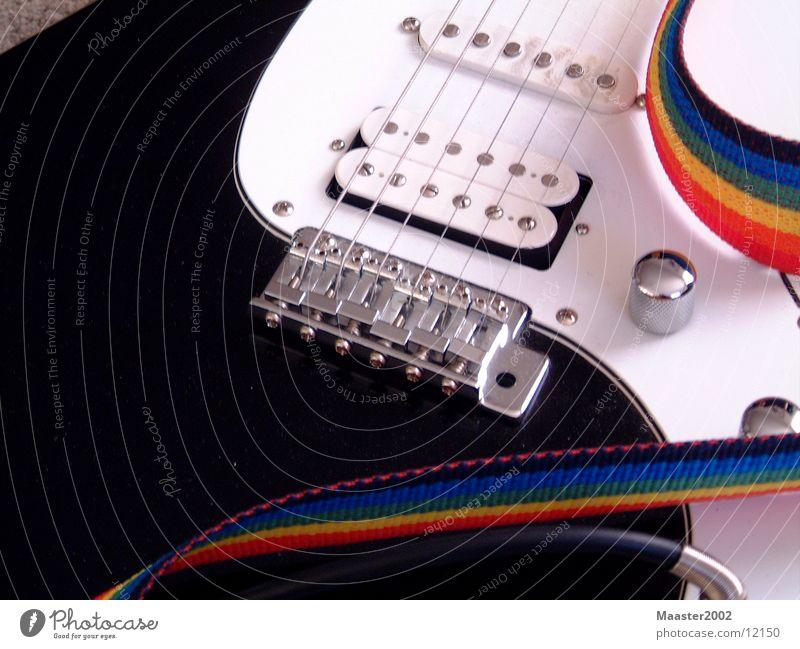 e-guitar focused Elektrogitarre Saite Freizeit & Hobby Gitarre
