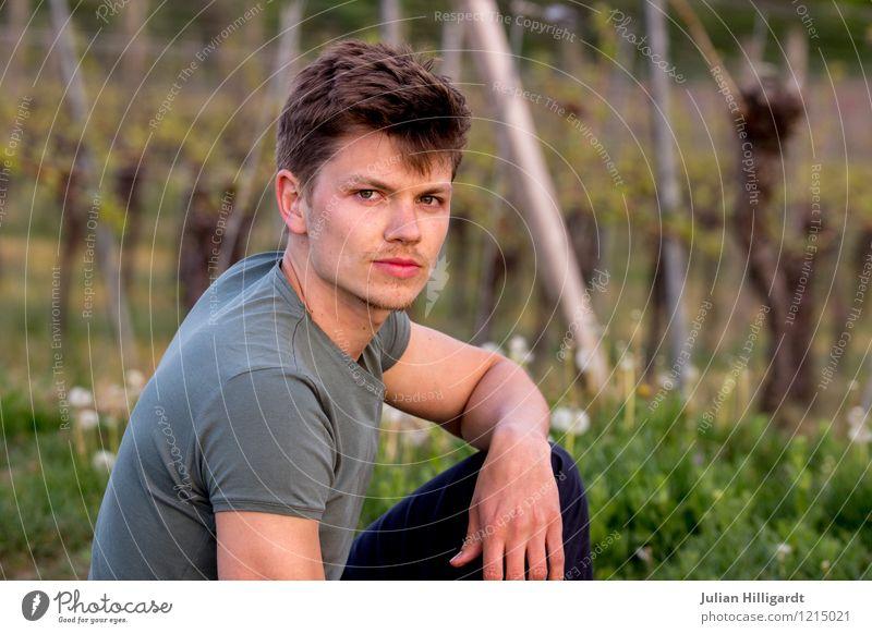 junger mann Mensch Natur Ferien & Urlaub & Reisen Jugendliche schön Junger Mann Erotik Freude 18-30 Jahre Erwachsene Stil Glück Lifestyle Stimmung Mode maskulin