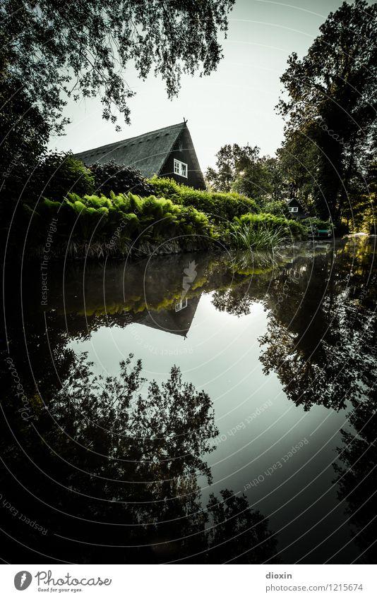 Spreedorado   Haus am Fliess Himmel Natur Ferien & Urlaub & Reisen Pflanze Sommer Wasser Baum Landschaft ruhig Umwelt Tourismus Häusliches Leben Ausflug