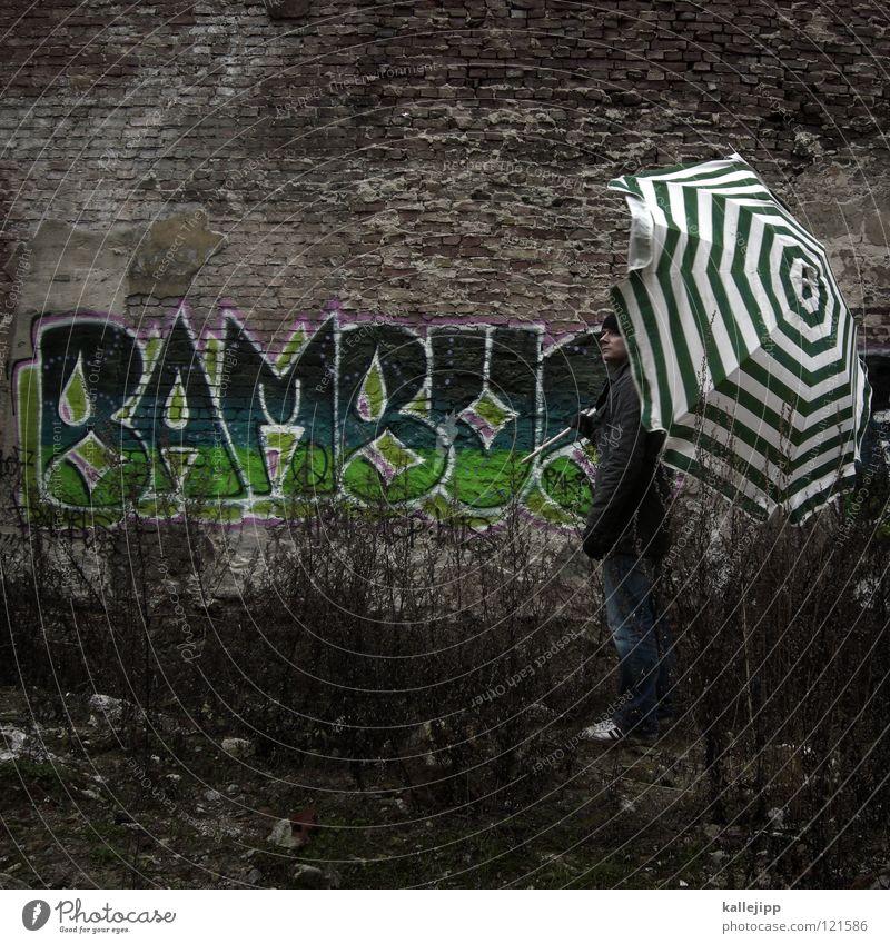 urlaubsparadies Mensch Mann Stadt Hand Haus Berge u. Gebirge Gefühle Graffiti fliegen See Lampe Linie Fassade springen Luft Freizeit & Hobby