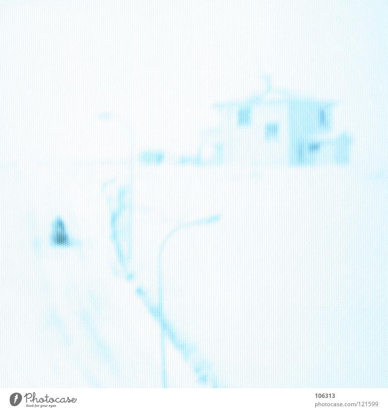 HIDDEN DEEPNESS blau grün weiß rot Haus Winter Fenster Wege & Pfade Schnee Stil Kunst außergewöhnlich Lampe hell träumen Eis