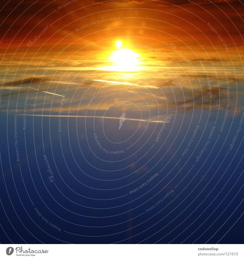 piper at the gates of dawn Stratosphäre Interstellarer Raum Animation Sonnenuntergang Sonnenaufgang See gelb Planet Luftverkehr Himmel lift off excelerate