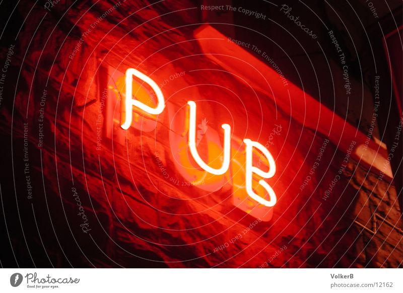 Electric Pub Gastronomie Club Neonlicht Pub Leuchtreklame Kneipe Werbung