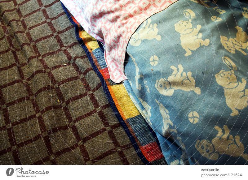 Decken Design Dekoration & Verzierung Häusliches Leben kariert Wolle Baumwolle Kinderzimmer