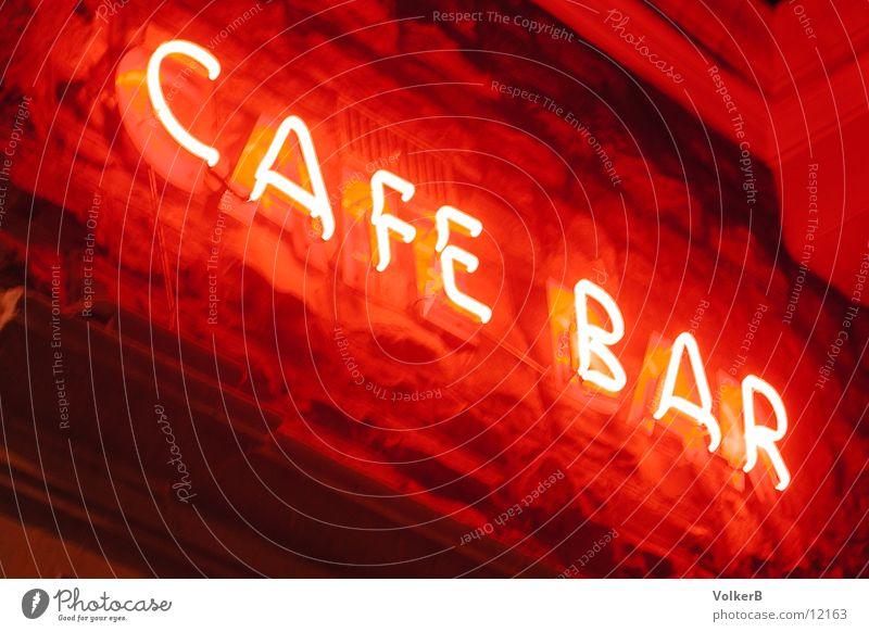 Cafe Neon leuchten Kaffee Café Club Neonlicht