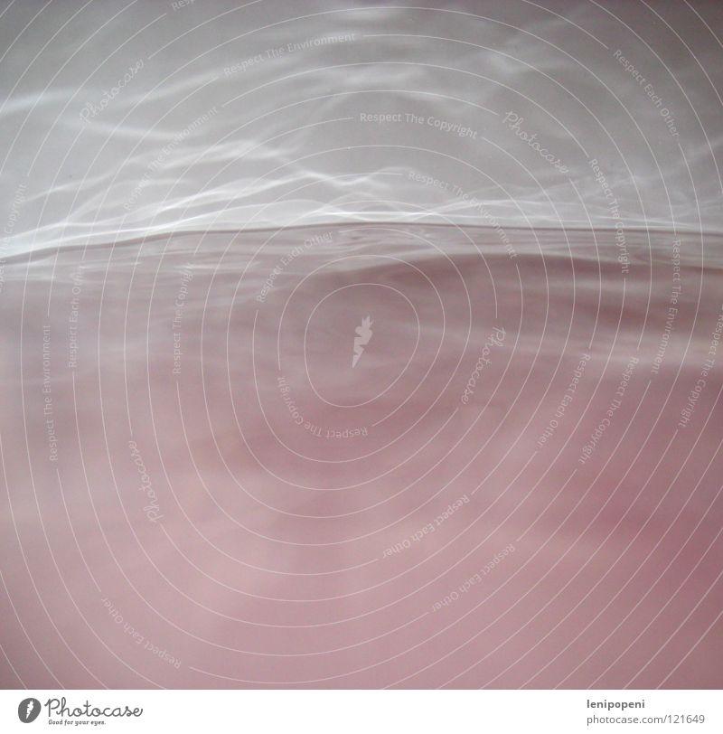 Mach mal nicht so 'ne Welle rosa Wellen Reflexion & Spiegelung Nebel Bad Wasser Schatten Wasserdampf banal Badewanne
