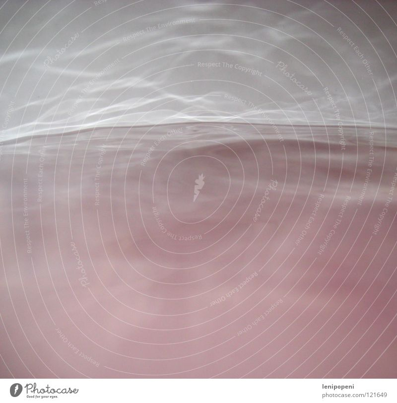 Mach mal nicht so 'ne Welle Wasser Wellen rosa Nebel Bad Badewanne Wasserdampf banal