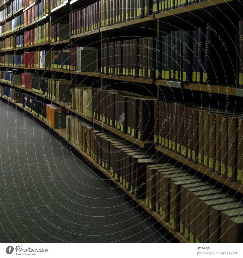 Belesen Bildung produzieren gelehrt Studium Studie Bibliothek Buch zitieren Ablage Regal Wissenschaften Ordnung Erschöpfung Ziel Urkunde anmelden Suche finden