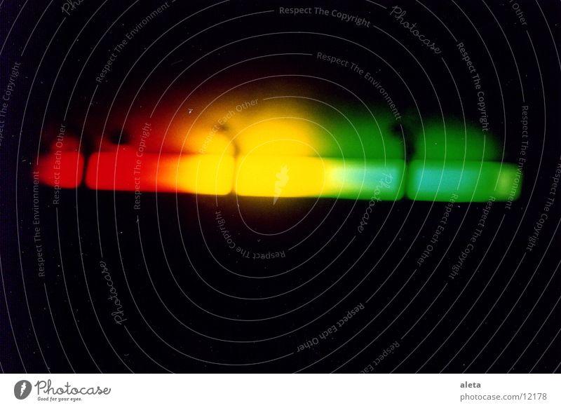 Lichter grün rot gelb Hintergrundbild Club Neonlicht