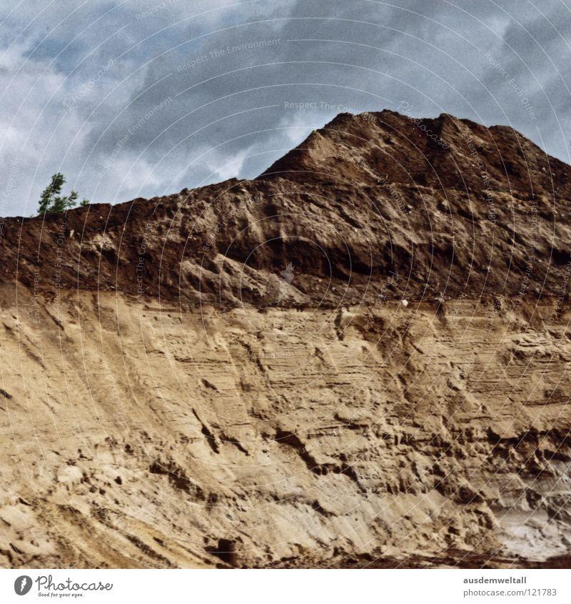 ::Tales Of Interests:: Natur Himmel Baum grün blau Wolken Berge u. Gebirge Sand Landschaft beige Bahnfahren