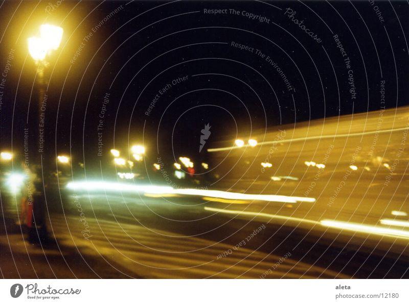movements Verkehr Straßenbeleuchtung Lampe Nacht Dinge