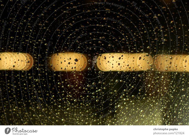 Rainy Day Fenster Herbst Zeit Regen Häusliches Leben leuchten Glas ästhetisch Aussicht Wassertropfen nass Fensterscheibe Langeweile Geborgenheit schlechtes Wetter Wasserrinne