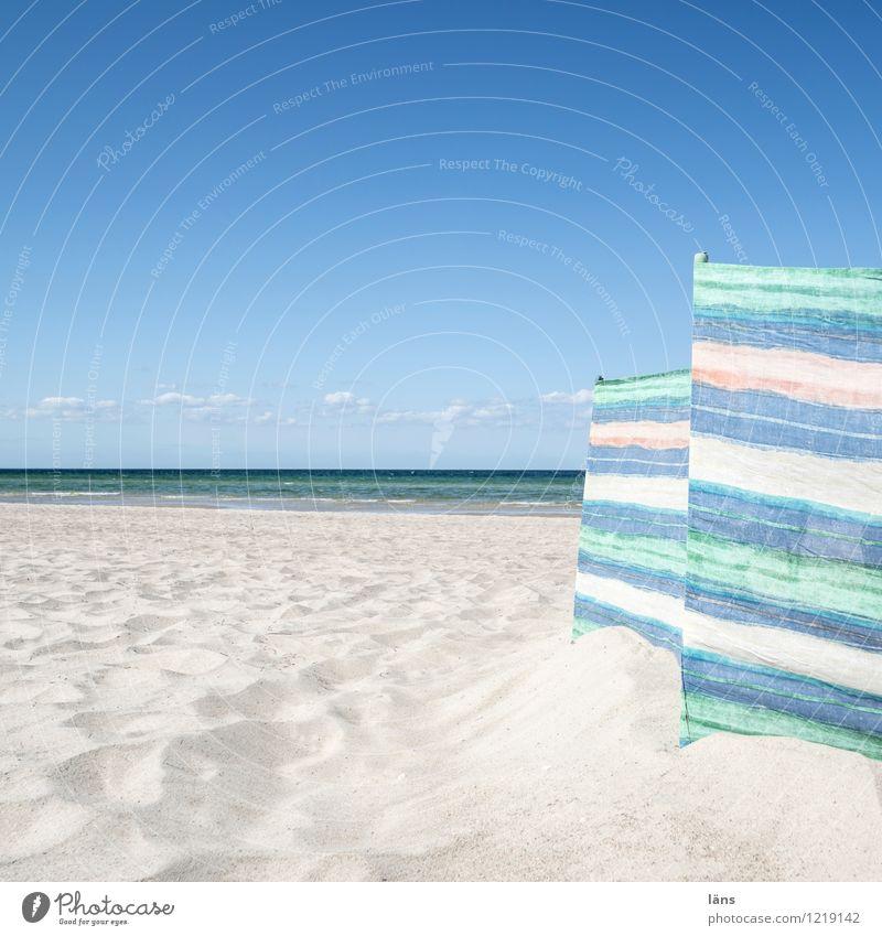 Zeitlupe Himmel Ferien & Urlaub & Reisen Meer Strand Sand Schutz Ostsee