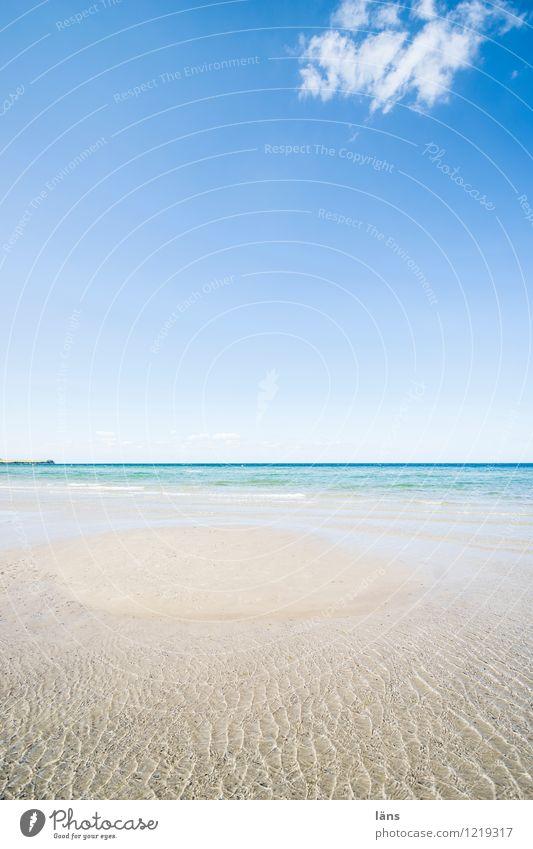 Begegnung Freizeit & Hobby Ferien & Urlaub & Reisen Tourismus Ausflug Freiheit Sommer Sommerurlaub Sonne Strand Meer Wellen Küste berühren maritim Beginn Natur