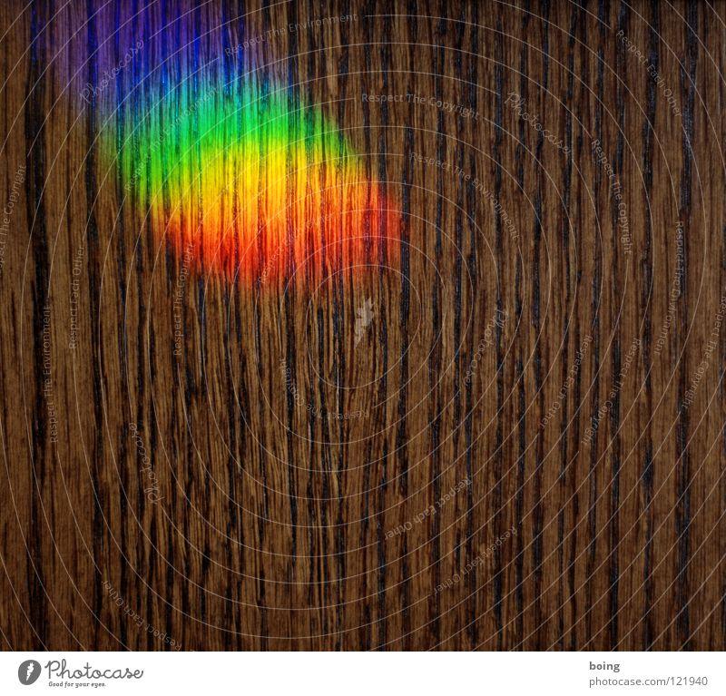 why, oh why can't I? Regenbogen Lichtbrechung Prisma Spektralfarbe Strahlung Halo RGB grün gelb rot mischen mehrfarbig Symbole & Metaphern Toleranz Vielfältig