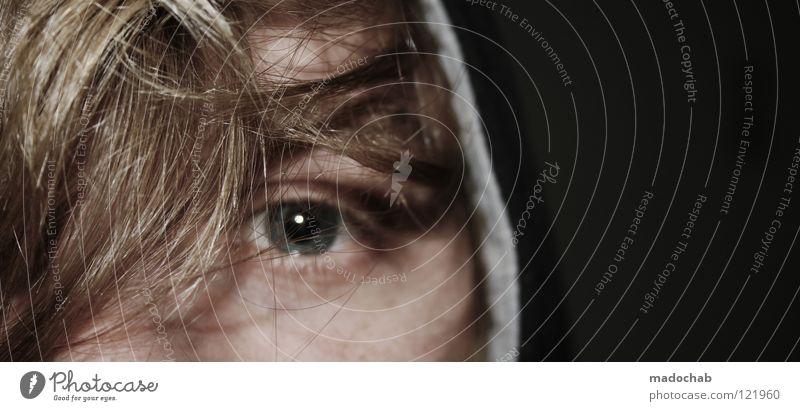JETZT Mensch Mann Jugendliche Gesicht Auge Einsamkeit Leben Haare & Frisuren Erwachsene blond Zufriedenheit ästhetisch Hoffnung nah Vertrauen