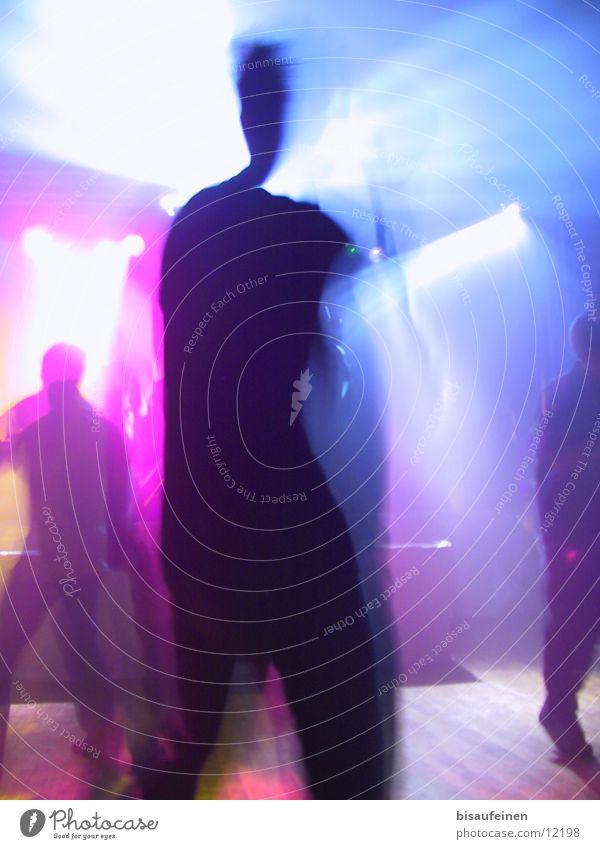 Dance to the light Disco Laser Lightshow Tanzen motion Bewegung Musik