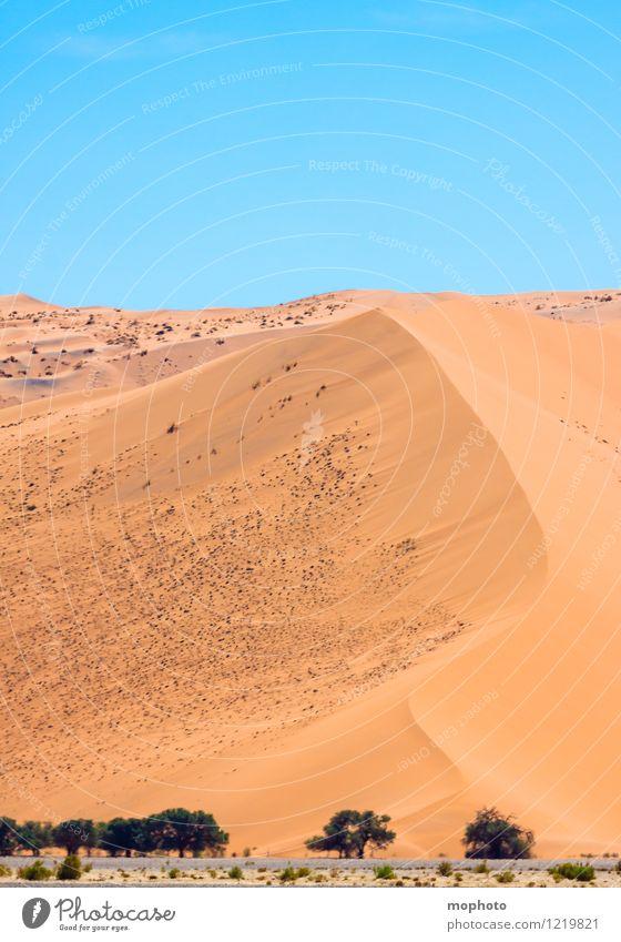 Schöne Kurven #2 Himmel Natur Ferien & Urlaub & Reisen blau Farbe Landschaft Ferne Umwelt gelb Wärme Sand orange Tourismus Idylle Klima Schönes Wetter