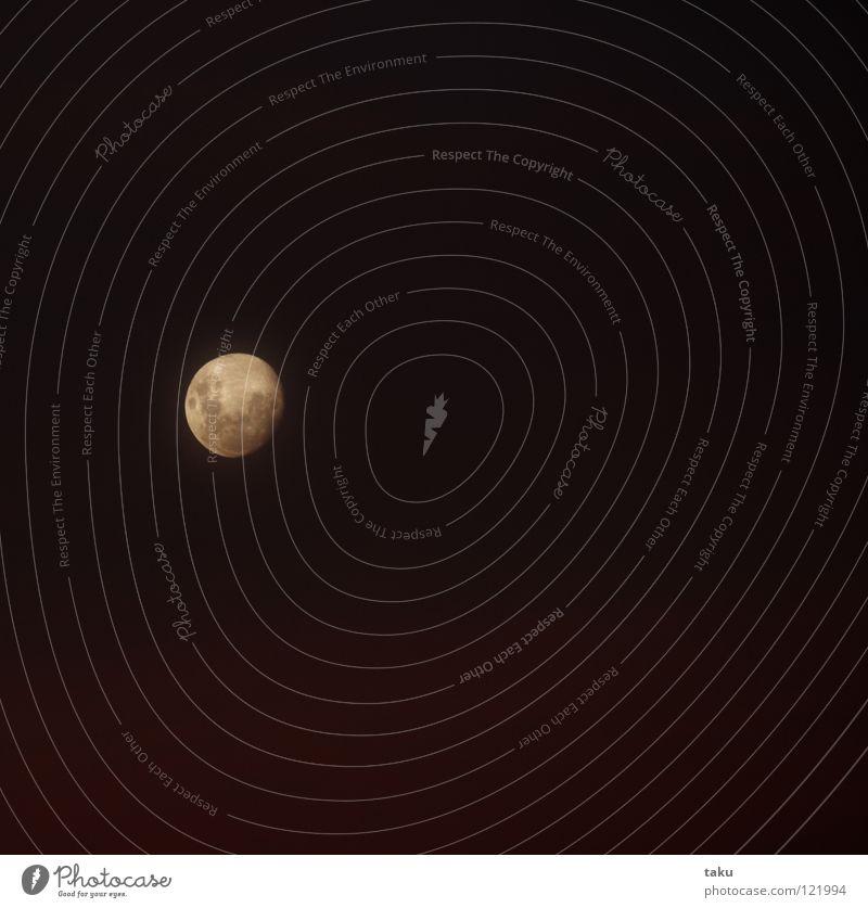 MARAMA Haus Lampe Mond Abenddämmerung Neuseeland Himmelskörper & Weltall Vulkankrater Mondaufgang