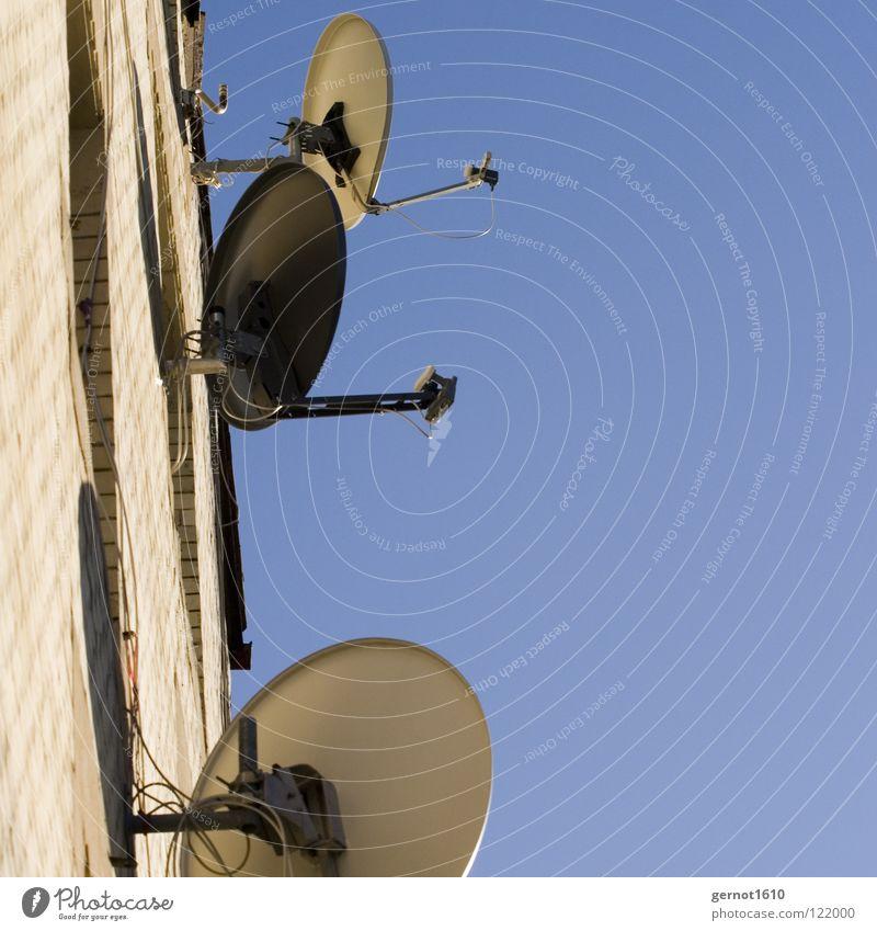 Seh-n-Sucht Satellit Satellitenantenne Fernsehen träumen Horizont Heimat Medien E-Mail Schalen & Schüsseln Radio Sehnsucht Heimweh Pay TV Astra
