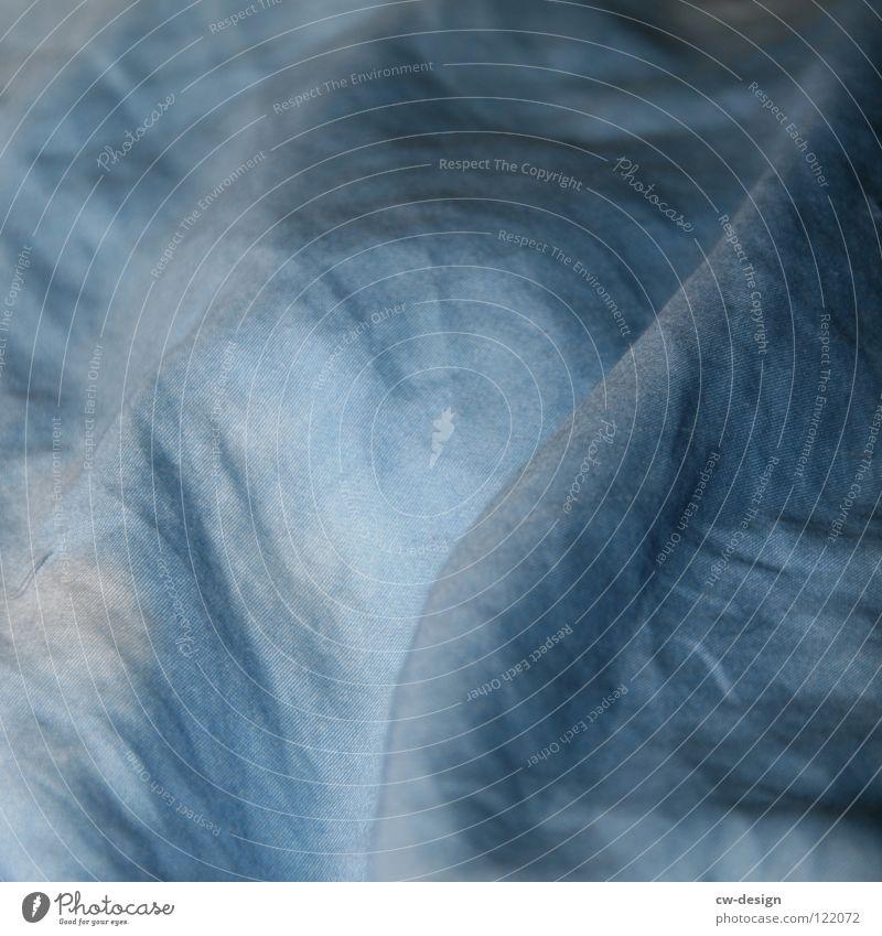 na gute nacht! weiß blau ruhig dunkel hell schlafen Bett nah Frieden Zeichen Falte Symbole & Metaphern Langeweile gemütlich Decke Bettlaken