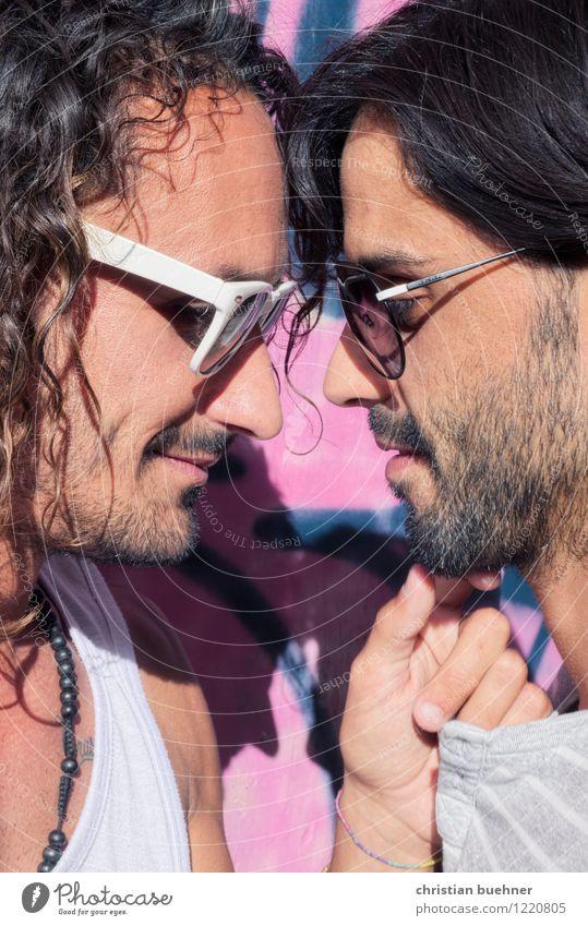 you and i Mensch Jugendliche Erotik 18-30 Jahre Erwachsene Liebe Glück Freundschaft maskulin träumen authentisch Lächeln Lebensfreude Sex berühren entdecken