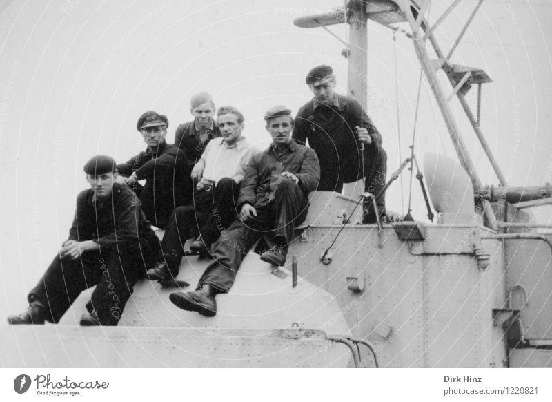 Werftarbeiter Technik & Technologie maskulin Junger Mann Jugendliche Erwachsene 6 Mensch Menschengruppe 18-30 Jahre Arbeit & Erwerbstätigkeit historisch