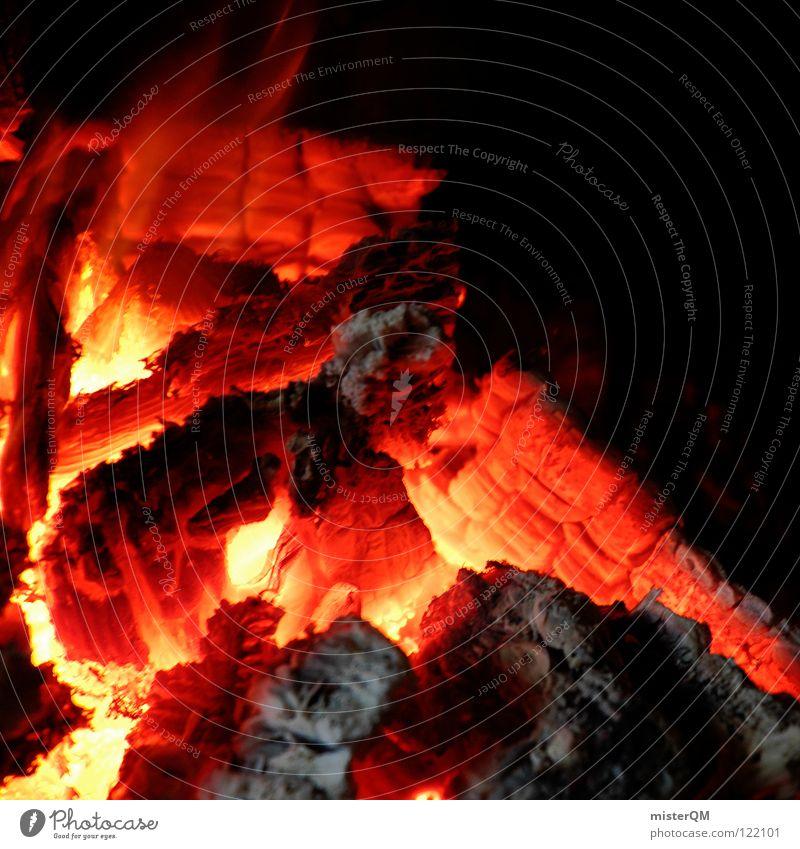 Feuer & Flamme. Natur alt Erholung ruhig Winter Wärme Leben Holz Kunst Freiheit hell Zufriedenheit Luft gefährlich geschlossen Kultur