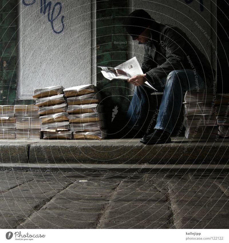 03 _ stop stealing sheet Graffiti Erde frisch Papier lesen Neugier Information neu Bildung Gastronomie Medien Spiegel Typographie Werbung Zeitung