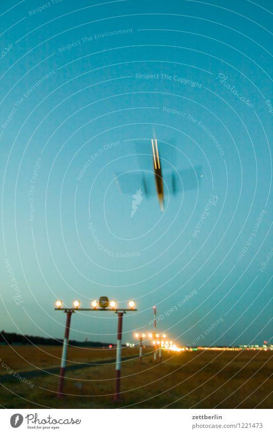 Flughafen Abheben Flugzeugstart Landen Flugzeuglandung Dynamik fliegen Luftverkehr Geschwindigkeit Eile Himmel Pilot Ferien & Urlaub & Reisen Reisefotografie