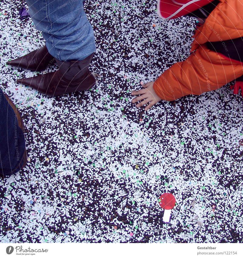 Wilder Süden Kind Party Fuß Schuhe Feste & Feiern dreckig Bodenbelag Maske Karneval Umzug (Wohnungswechsel) Bonbon Süßwaren Applaus verkleiden Konfetti gestaltbar